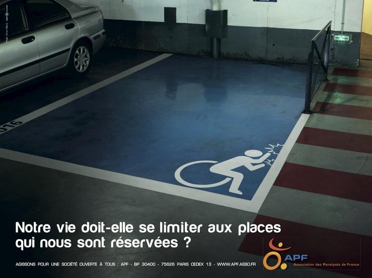 APF - L'Association des Paralysés de France - Les places réservées