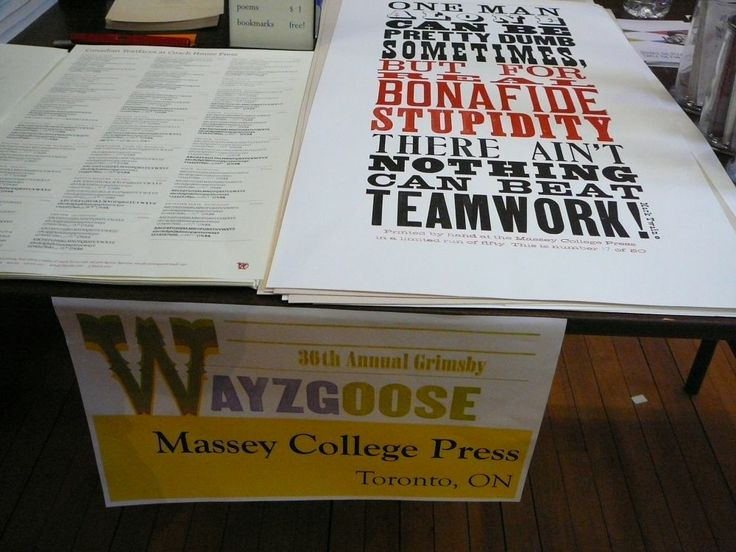 Massey College Press, Toronto, Ont. Photo by Don McLeod.