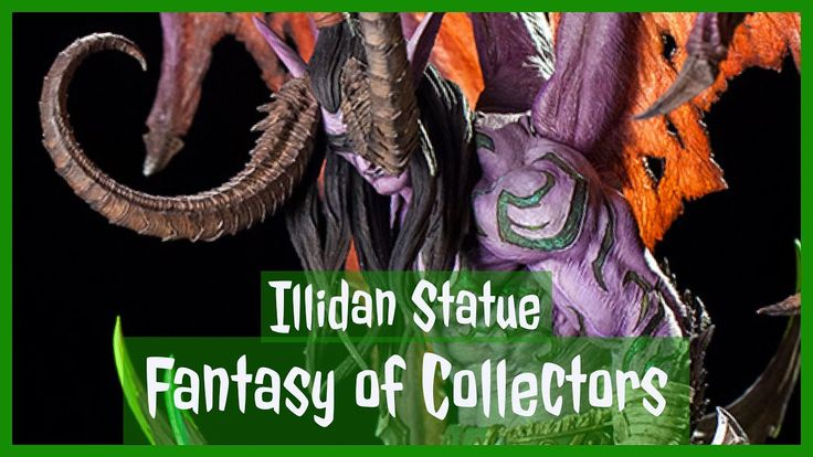 Im so excited for my illidan statue  I grew up on laying world of Warcraft and Warcraft 2 3 before that growing up in small town in India. Love & passion for Warcraft kept on increasing i moved to Toronto and started collection of Warcraft collectibles I got illidan statue did an unboxing of it #worldofwarcraft #blizzard #Hearthstone #wow #Warcraft #BlizzardCS #gaming