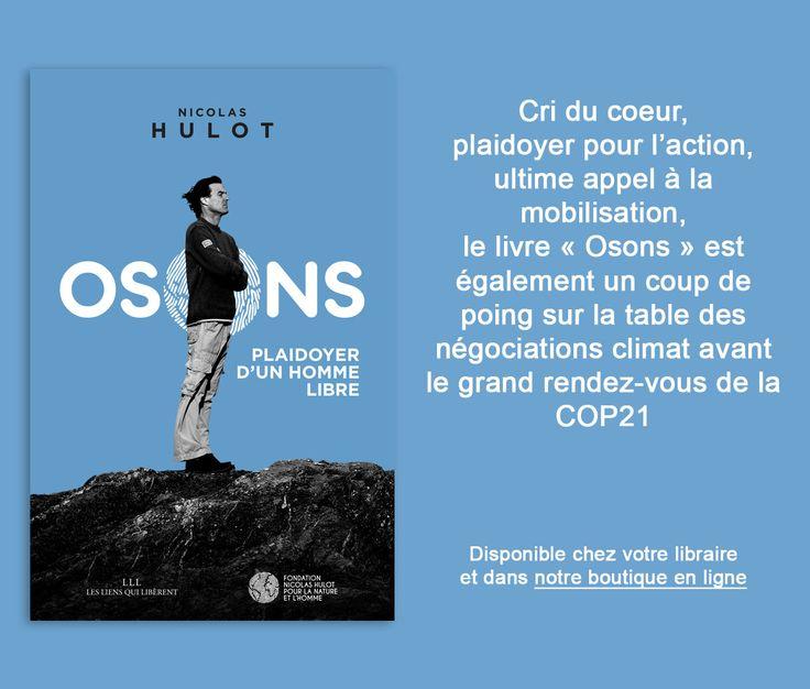 Osons | Fondation Nicolas Hulot