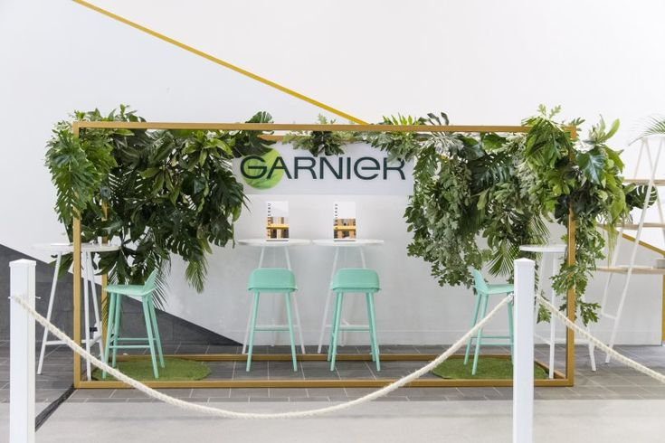 Garnier styling hub activation brain beats 2015 at Georgeous