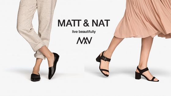 Vegan leather shoes can be tough to find sometimes… but we've just made it a lot easier!    We now have some gorgeous vegan leather shoes by Matt & Nat in our Whistler village store and available online!Here's a run down of our favourite new arrivals: