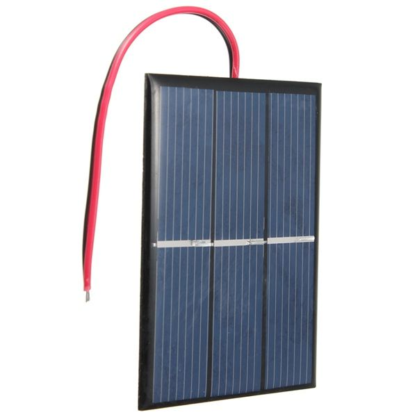 0 65w 1 5v 0 300ma Mini Solar Panel With Wire Mini Solar Panel Solar Panels Solar