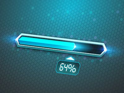 Progress Bar Loader by Andru Gavrish