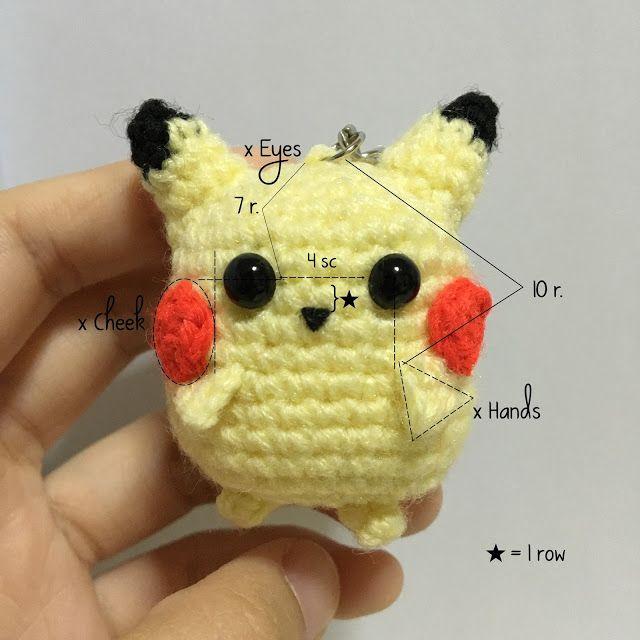 Mejores 235 imágenes de Pokemon crochet en Pinterest | Juguetes de ...