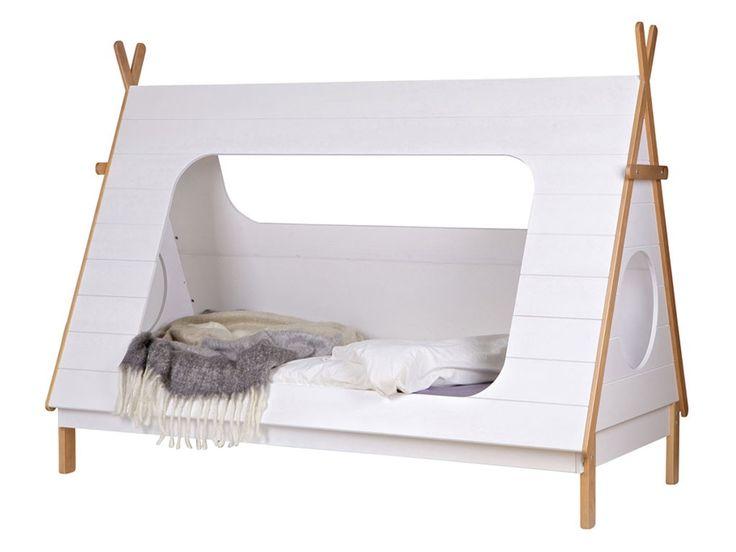 Łóżko sosnowe Tipi - 90x200cm