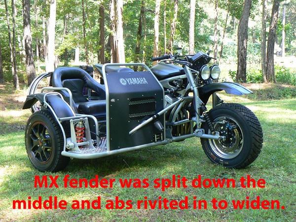 Yamaha FZ1 dual sport sidecar build - ADVrider