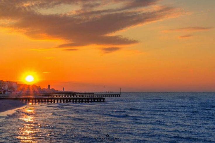 Sunrise At Jesolo Beach
