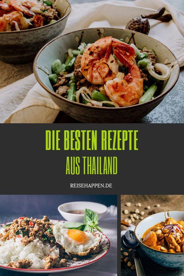 Die besten Rezepte aus Thailand   Rezepte, Gesunde ...