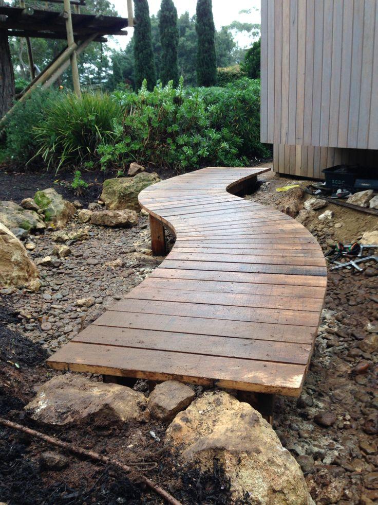 Complete Hardwood bridge Red hill