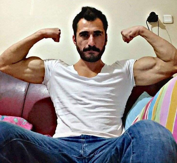 Hot Middle Eastern Men Armpits From Turkey  Biceps -6681