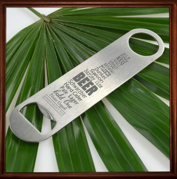 Engraved Barware Barmate Bottle Opener