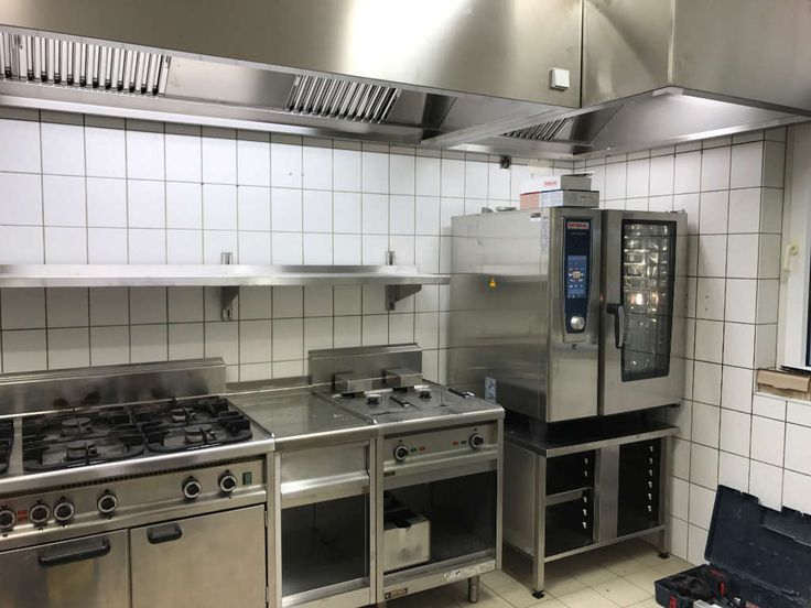 Gastro Küchenbereich Harzer Schnitzelhaus - Großküchentechnik - dunstabzugshaube kleine küche