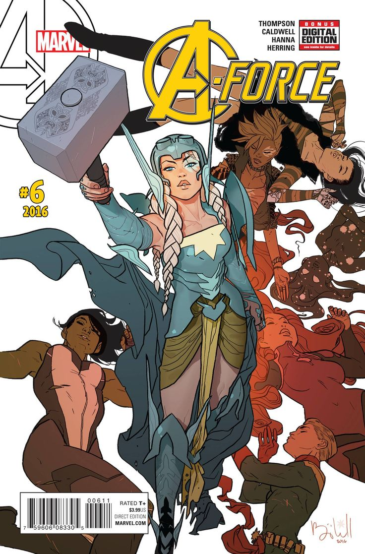 A-Force (2016) Issue #6 Ben Caldwell