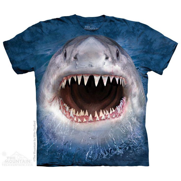 Wicked Nasty Shark Kids T-Shirt