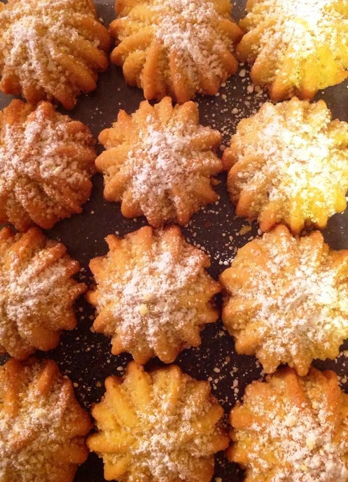 Maa'mool - Middle Eastern Walnut Biscuits