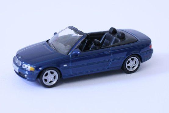 1:64 scale BMW 3 Series Cabrio – by Schuco