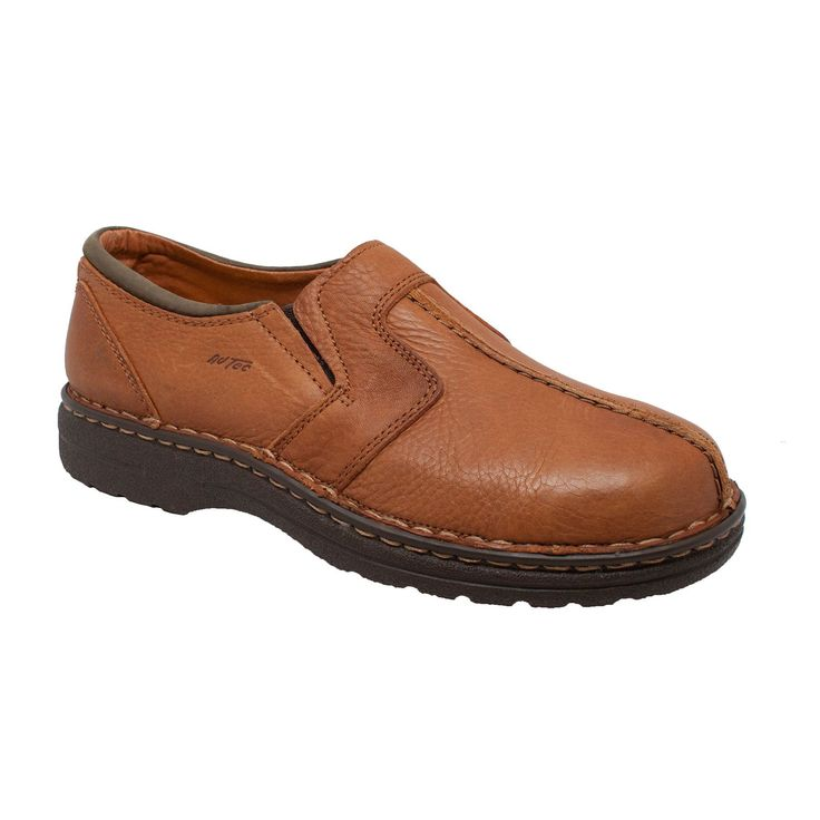 Stylish brown full-grain and nubuck leather upper. This comfort gold casual  shoe features EVA extra cushioned mid-sole, PU orthotic removable cushion  insole ...