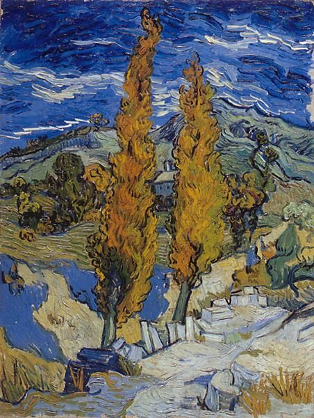 how to tell a real van gogh painting