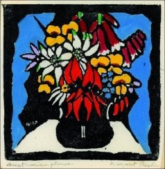Australian Flowers by Margaret Preston - <3