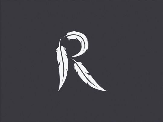 Raven letter R ( Unused logo )