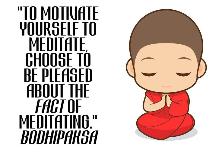 To motivate yourself to meditate, choose to be pleased about the fact of meditating http://wld.mn/motivate-meditate