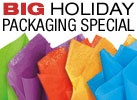 Are you offering gift wrap on the items you sell online?  If so, here is a great place to buy regular and recycled gift wrap, bags and supplies.