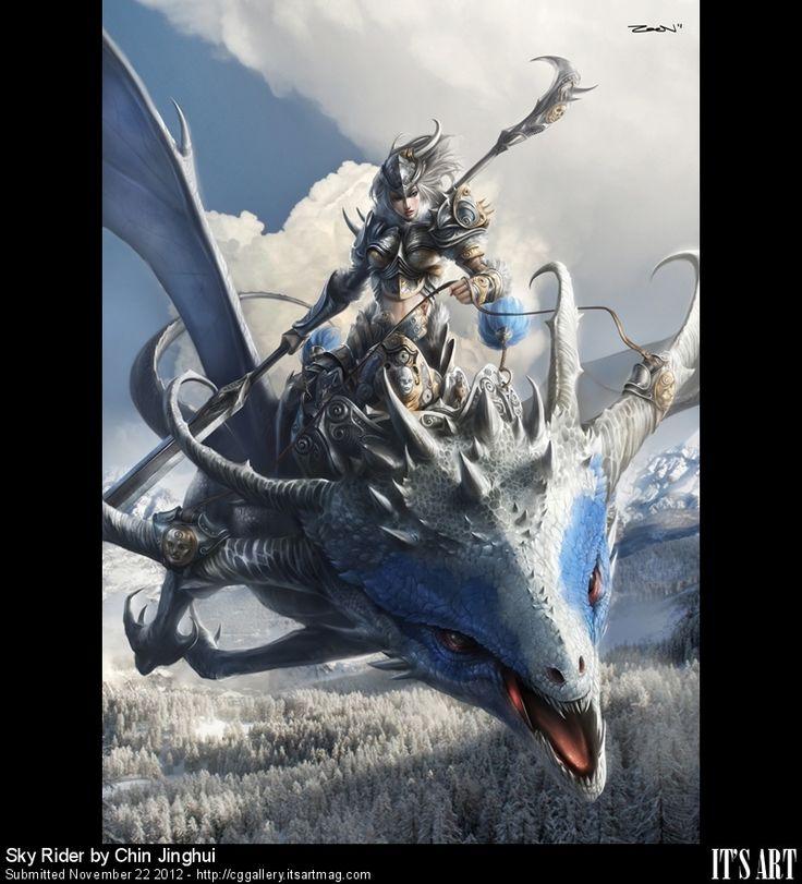CG GAllery - Sky Rider by zeen