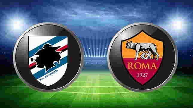 Prediksi Skor Sampdoria vs Roma Puran Bola 10-9-2017