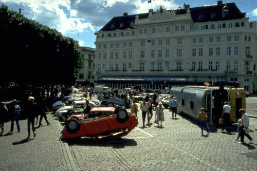 Smashed Parking Ground, Henrik Plenge Jakobsen.
