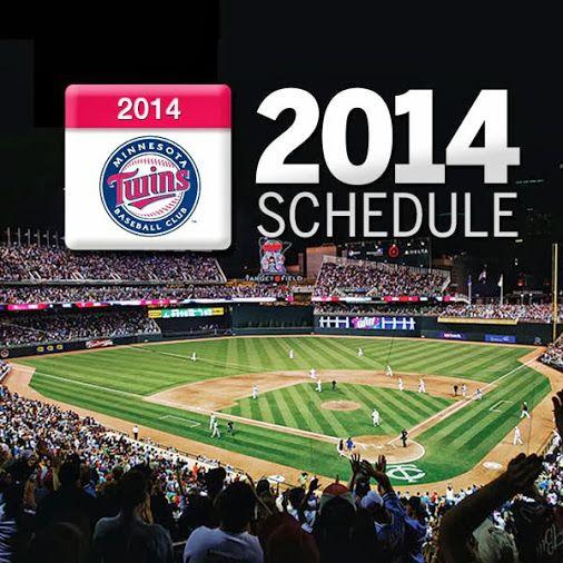 Minnesota Twins 2014 Schedule