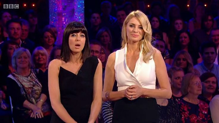 Tess Daly on Strictly 2014