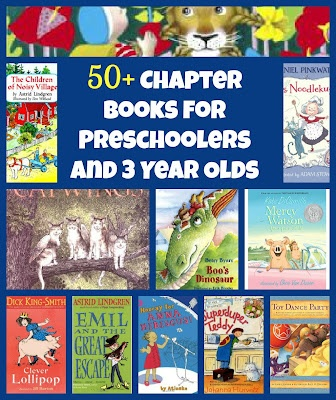 Chapter books for preschoolers and 3 year olds ~ Add to our