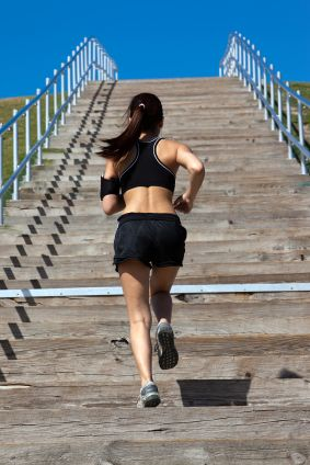 Cathe Friedrich - The Amazing Benefits of Stair Climbing for Exercise