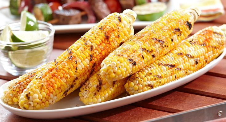 Fire Roasted Grilled Corn: Forego the boiling – grill corn-on-the-cob for tender sweet corn. Sprinkle with Lawry's® Fire Roasted Chile & Garlic Blend to add some heat.
