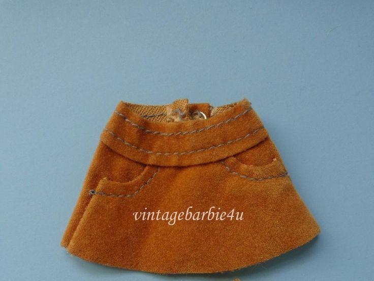 Vintage Barbie Tutti Doll #8502 Play Mates Suede Skirt Bequem Und Praktisch  #Mattel #Clothing