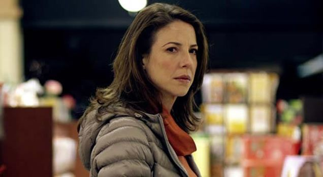 Robin Weigert as Abby/Eleanor in Concussion.