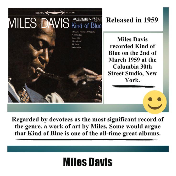 Kind of Blue Album by Miles Davis #milesdavis #kindofblue #jazz #jazzmusic #jazzstandard #song #music #album #musica #singer #songwriter #video #youtube