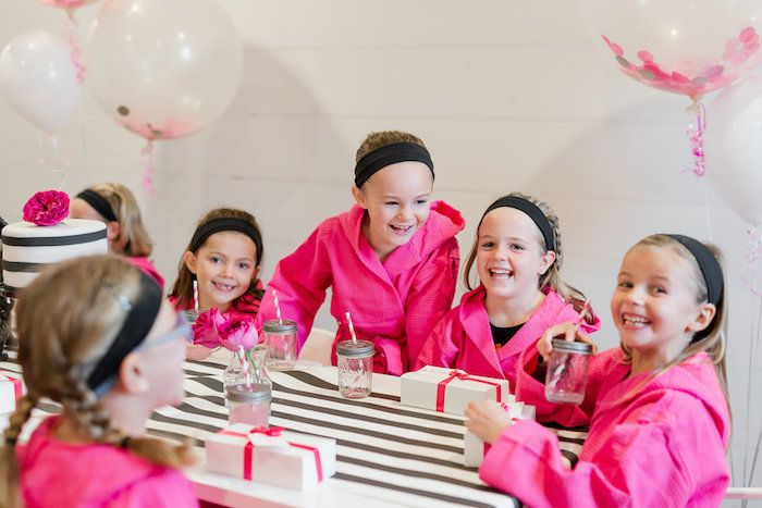 Kate Spade Inspired Spa Birthday Party on Kara's Party Ideas | KarasPartyIdeas.com (12)