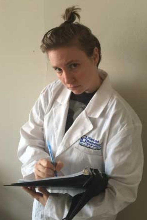 Lena Durham's Halloween Costume: a Planned Parenthood abortionist