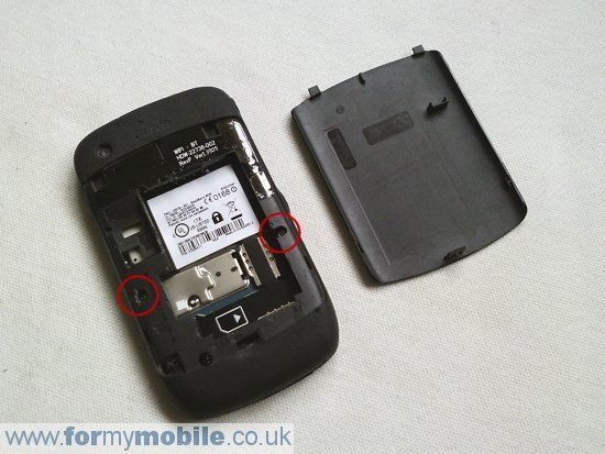 BlackBerry Curve 8520 disassembly