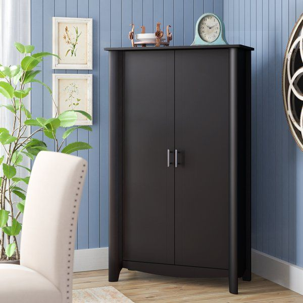 The Tall Storage Cabinet With Doors Fits Any Home Or Office With Simple Styling And An Elegant Design The Ta Accent Doors Accent Cabinet Tall Cabinet Storage