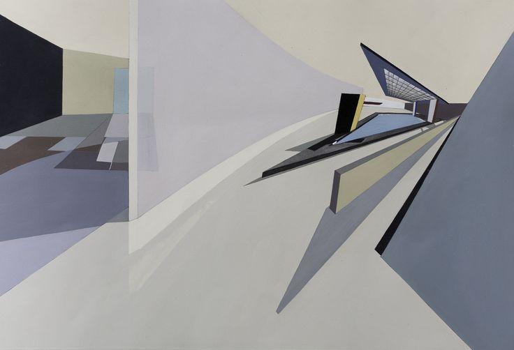 Gallery of The Creative Process of Zaha Hadid, As Revealed Through Her Paintings - 11