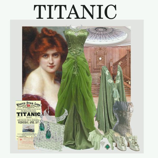 Titanic Chic, created by bklou on Polyvore. Not a fan of the movie but am a fan of fashion.