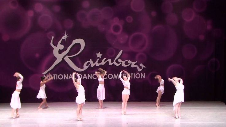 Rainbow dance competition 2016- Terres dance team - Knockin' on Heavens ...
