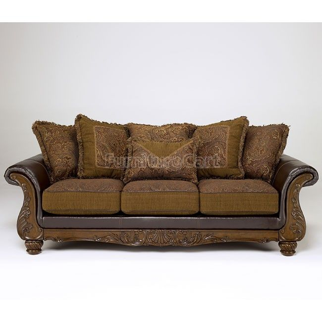 Wilmington - Walnut Sofa | Walnut sofa, Ashley furniture, Sofa