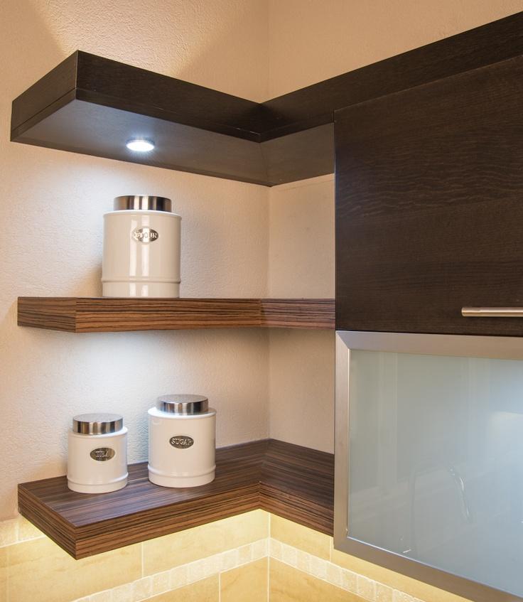 Floating shelves, integrated led lighting | Friars Hill Project, Antigua |  Pinterest | Floating shelves, Shelves and Lighting