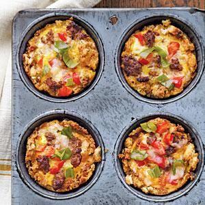 Savory Egg Muffins Recipe   MyRecipes.com