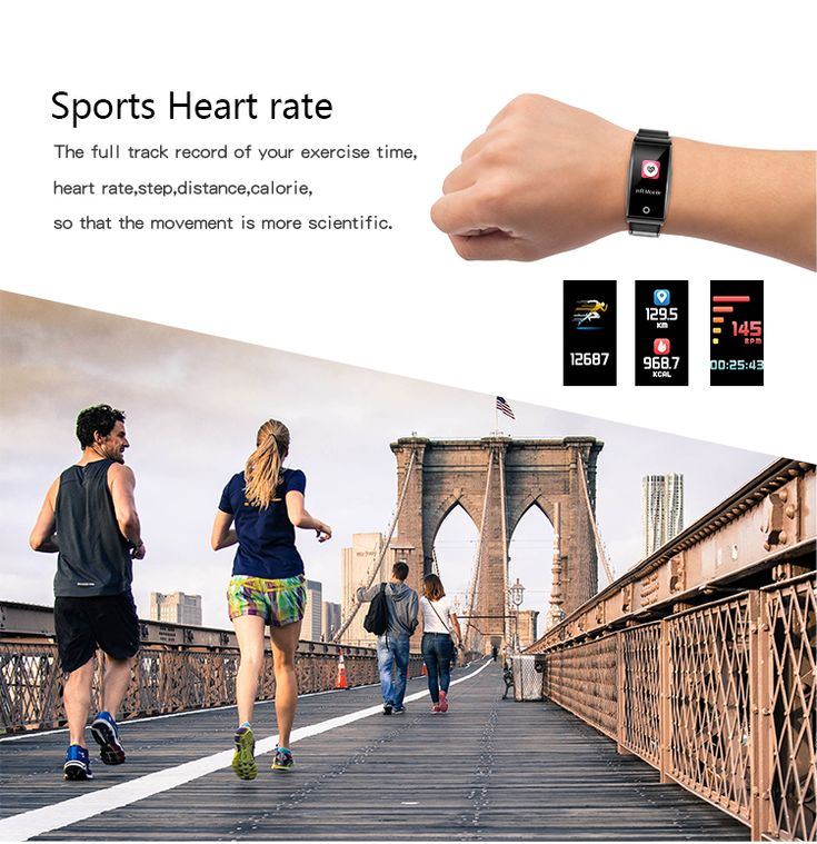 Bakeey Mate 1 0.96 Color Screen Blood Oxygen Pressure Heart Rate Music Camera Control Smart Watch