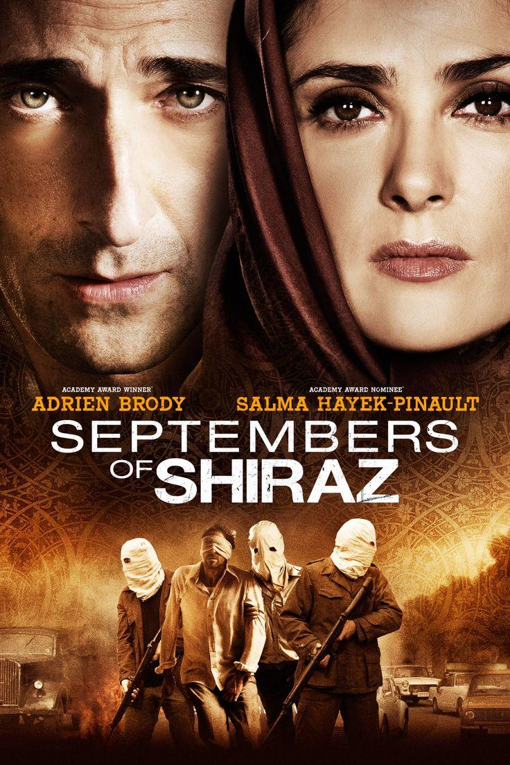 Septembers of Shiraz Movie Poster - Salma Hayek, Adrien Brody, Shohreh Aghdashloo  #SeptembersOfShiraz, #SalmaHayek, #AdrienBrody, #ShohrehAghdashloo, #WayneBlair, #Thriller, #Art, #Film, #Movie, #Poster